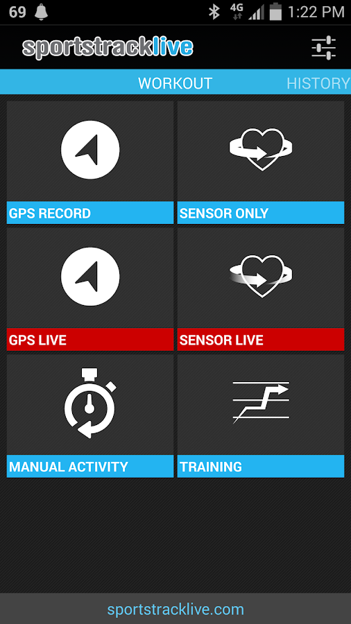 SportsTracker PRO - screenshot