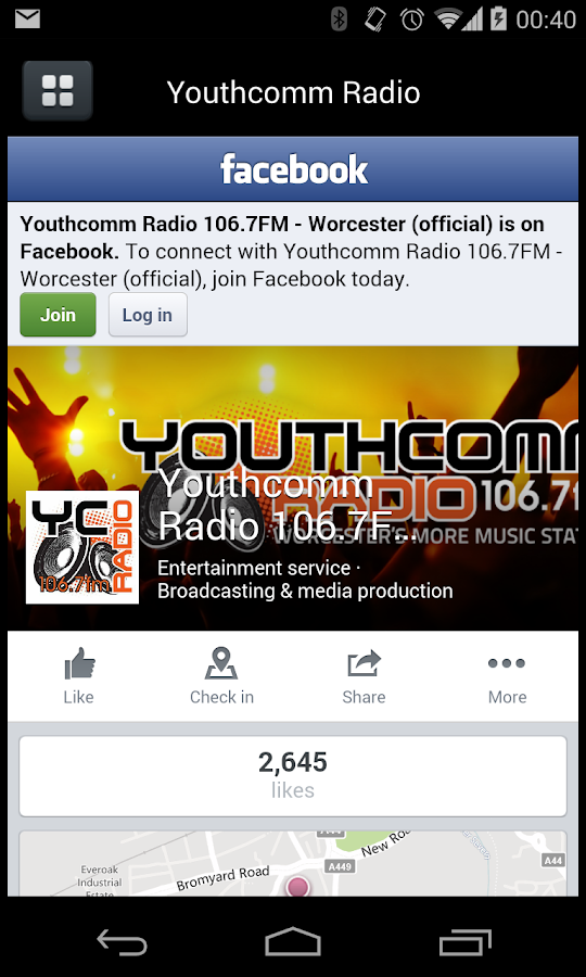 Youthcomm- screenshot