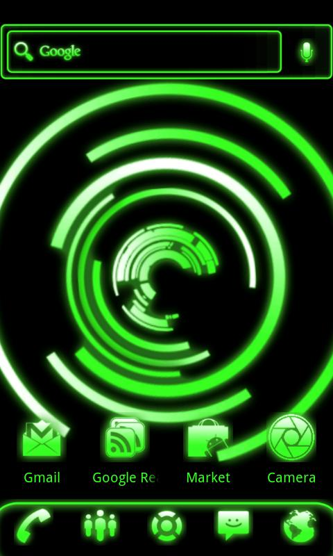 Glow Rotating Live Wallpaper - screenshot