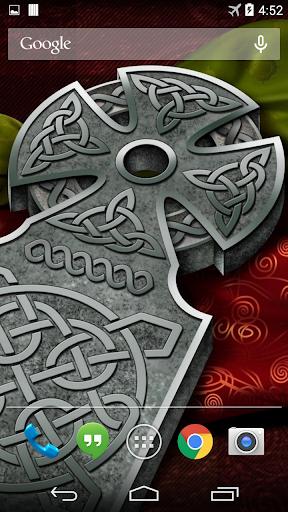 Celtic Cross Live Wallpaper