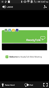 ReadyTalk Conferencing - screenshot thumbnail