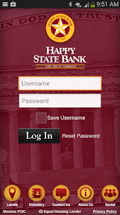 Happy State Bank- screenshot thumbnail
