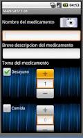 Screenshot of Medicator