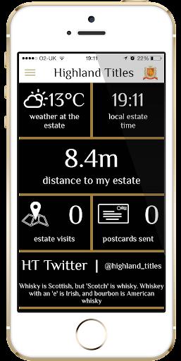 Highland Titles Estate Manager