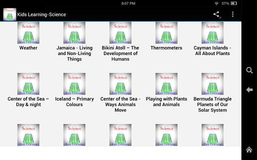 Kids Learning-Science