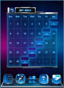 GALAXY COMET 3D LAUNCHER THEME screenshot 4