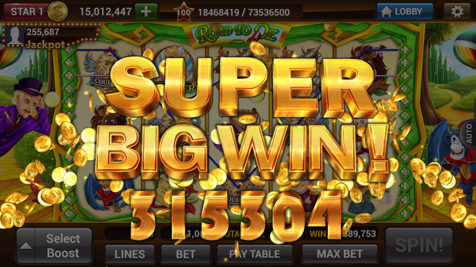 best casino slot machine games