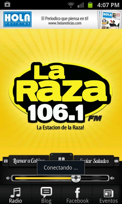 La Raza 106.1 FM - screenshot