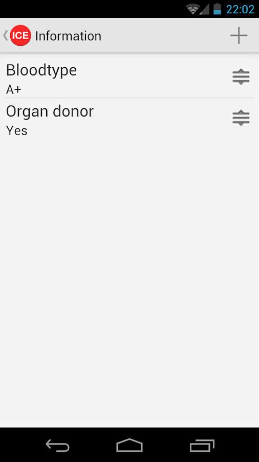 ICE Donate - screenshot