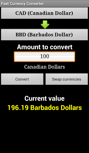Fast Currency Converter