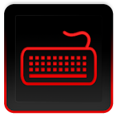 Glossy Red Keyboard Skin HD