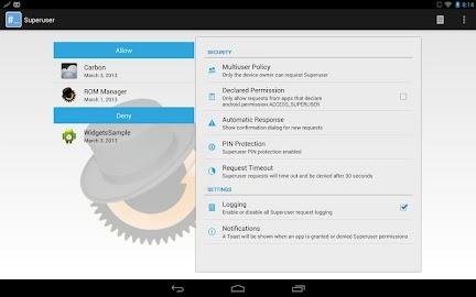 Superuser Screenshot 1