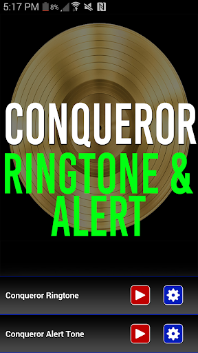 Conqueror Ringtone Alert