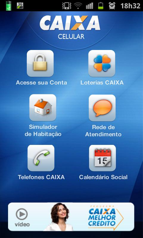CAIXA - screenshot