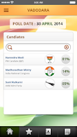 Screenshot of India Lok Sabha Election 2014