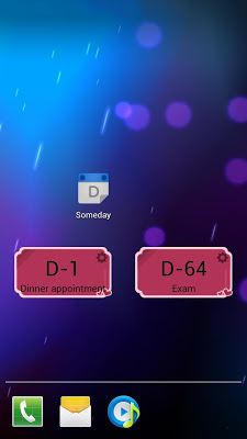 Someday - D-Day(Calendar Sync) - screenshot