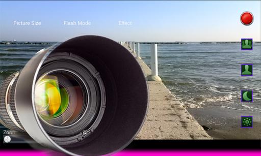 写真カメラズーム
