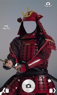 Samurai armor suit fotomontage screenshot