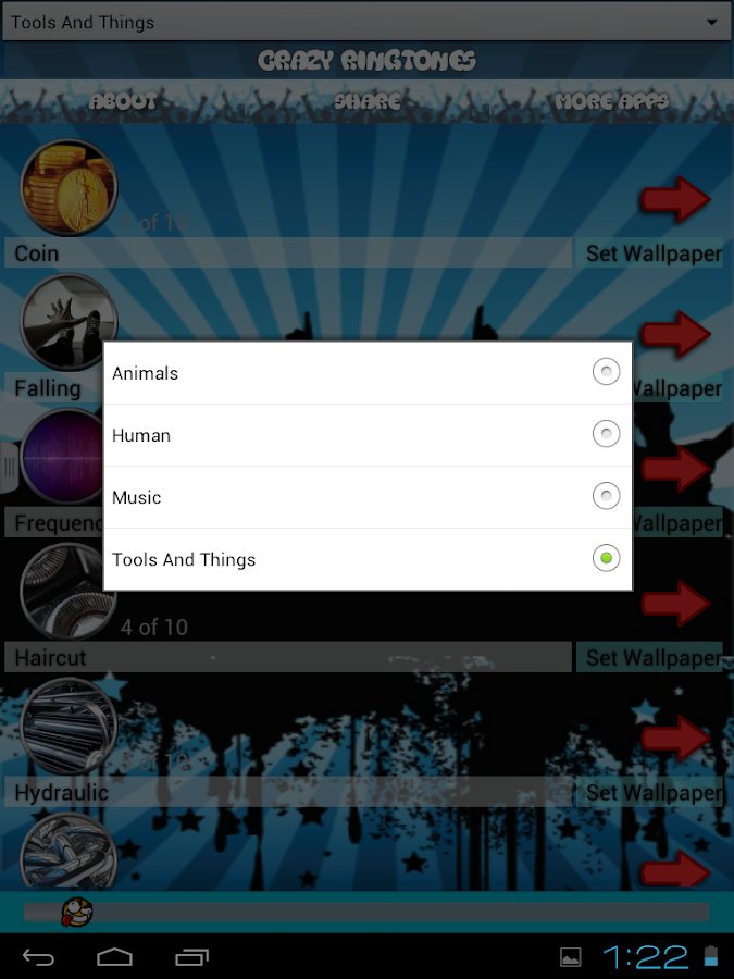 crazy ringtones and wallpapers android apps on google play