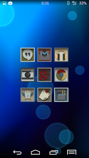 Distinct Launcher Theme