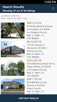 Screenshot of HUDHomestore Mobile Search