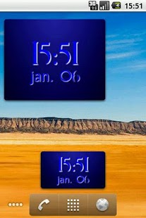 Digital Clock Widget - screenshot thumbnail