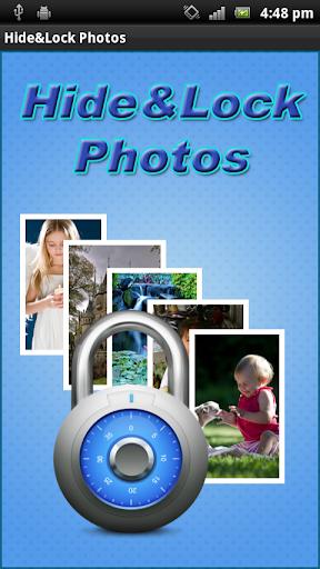 隱藏與鎖定照片