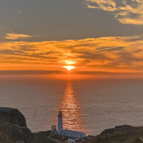 Sunset at the Stack ..... by Don Cardy - Landscapes Sunsets & Sunrises (  )