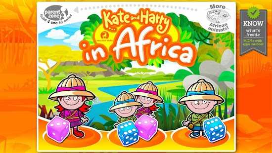 Kate and Harry in Africa- screenshot thumbnail
