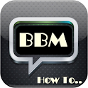 How to use BBM icon