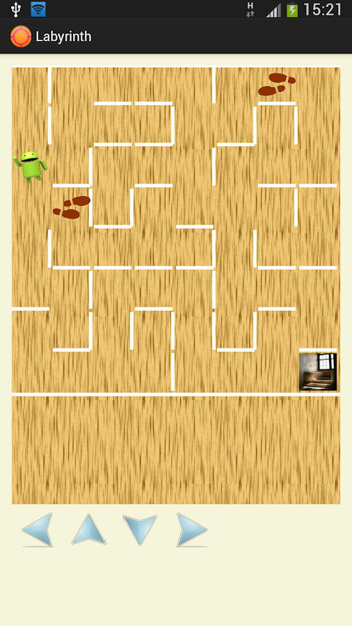 Ahagame - labyrinth, billiard- screenshot