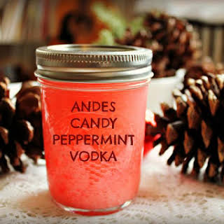 Andes Candy Peppermint Vodka.