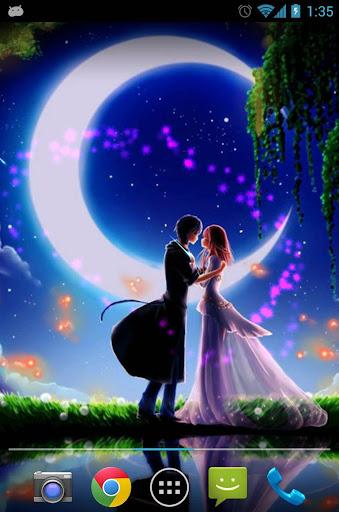 星空下的爱情动态壁纸