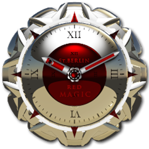 clock widget RED MAGIC 生活 App LOGO-APP試玩