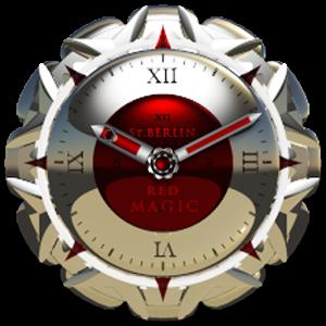 clock widget RED MAGIC 生活 LOGO-玩APPs