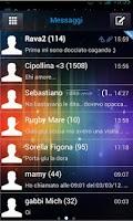 Screenshot of GO sms ICS theme