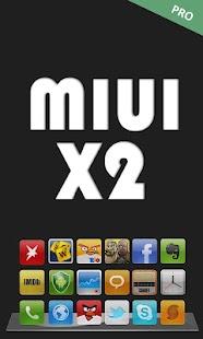 MIUI X2 Go/Apex/ADW Theme PRO- screenshot thumbnail