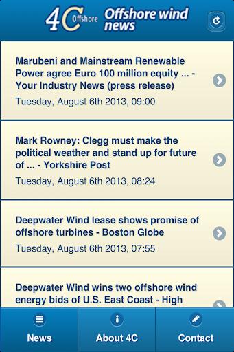 4C Offshore Wind News