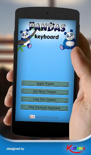 Pandas Keyboard