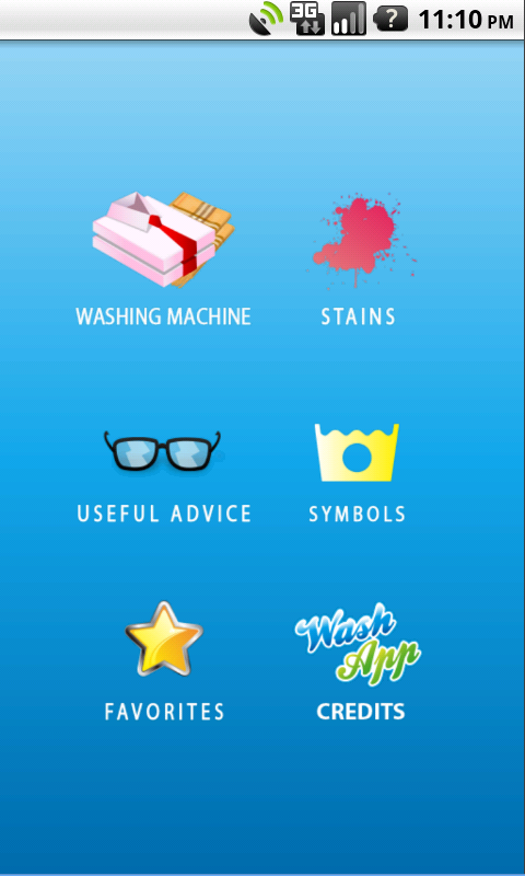 WashApp- screenshot