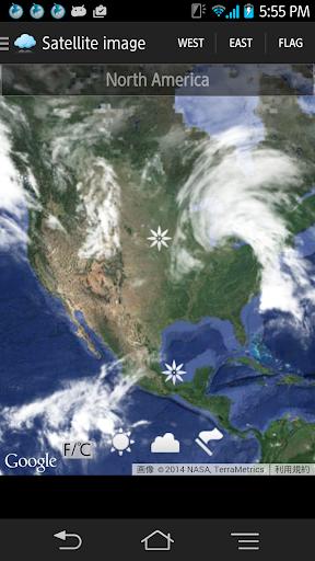 【免費天氣App】最新の衛星雲画像-APP點子