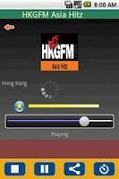 Screenshot of Radio Hong Kong