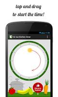 Screenshot of tic tac kitchen timer