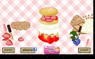 Screenshot of Strawberry Shortcake Dressup