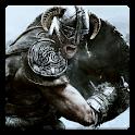 Skyrim HD Wallpaper logo