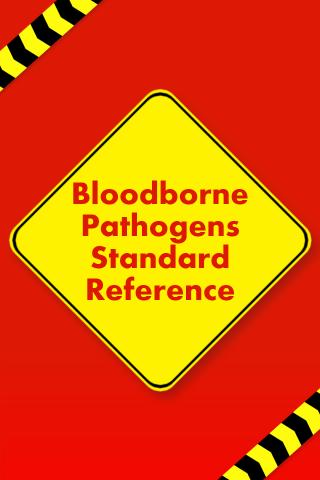 Bloodborne Pathogens Reference- screenshot