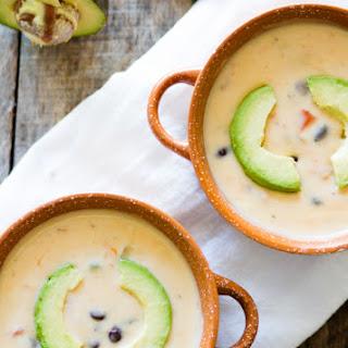 Creamy Black Bean Soup.