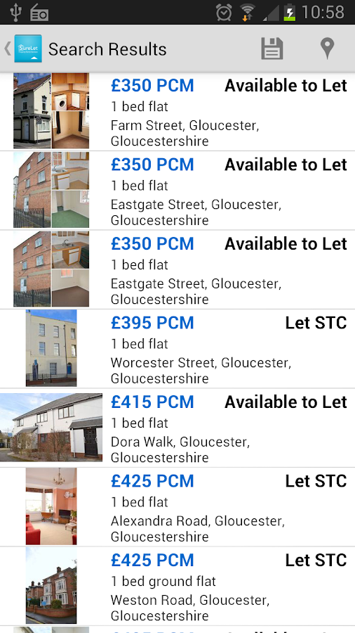 Terence Painter Estate Agents- screenshot