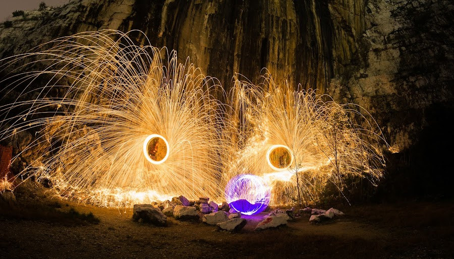 by Viorel Caloean - Abstract Light Painting