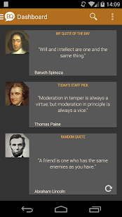 Brilliant Quotes & Quotations - screenshot thumbnail